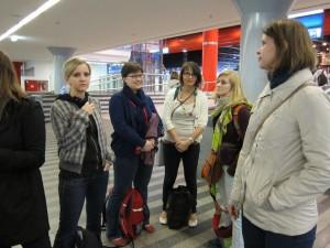 sraz na nádraží v Praze